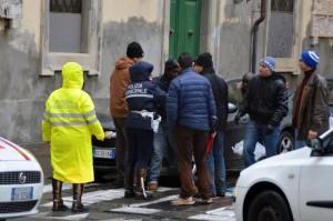 L'arresto del senegalese