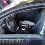 Spaccata vetro auto